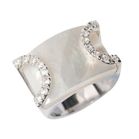 seagull gifts sterling silver dress ring white