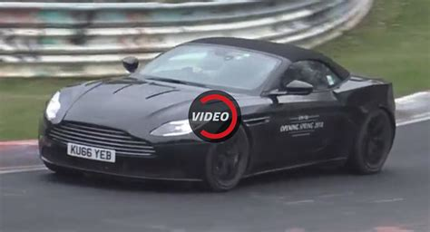 aston martin db volante aston martin db11 volante feels right at home on track