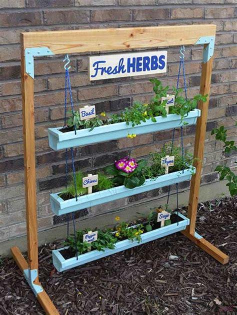 diy vertical gardens   herbs