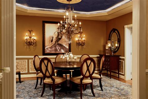 Houzz Dining Rooms by Feminine Dining Room 4