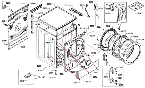 bosch washer parts diagram bosh vision 300 500 dlx series clothes washer is giving