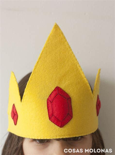 como hacer la corona del rey hielo de hora de aventuras