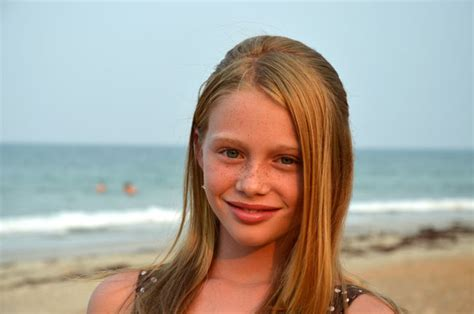 11 year old girl with blonde hair jillian hooper little miss flagler county contestant