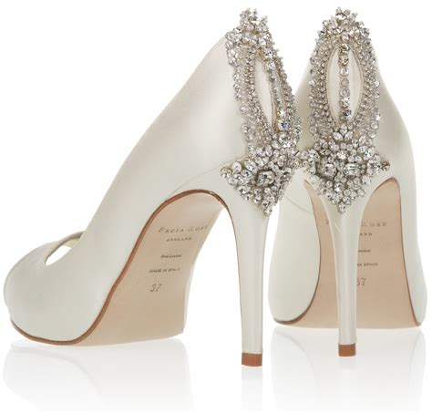hochzeit schuhe braut freya bridal shoes the manhattan collection