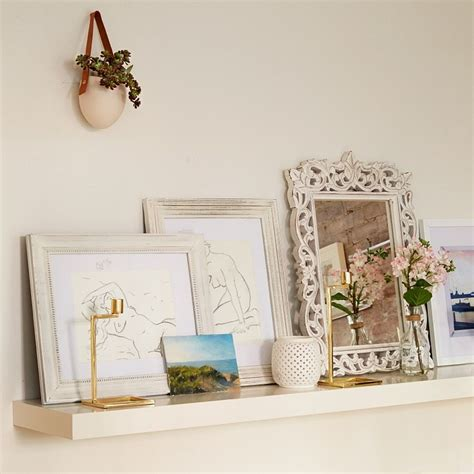 decorating with floating shelves interior design styles going shabby chic trendy manhattan triplex shows you how