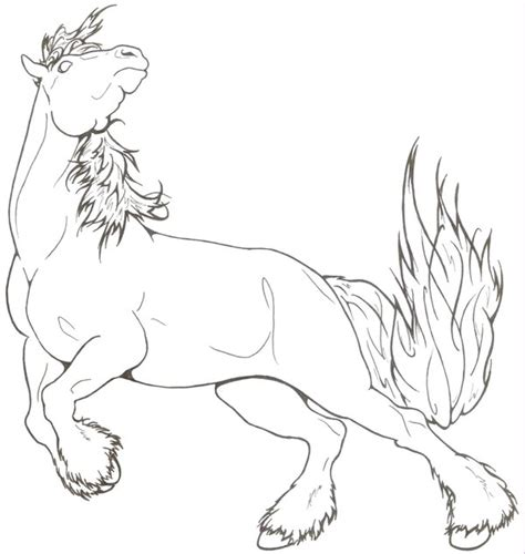 spirited draft horse by requay on deviantart