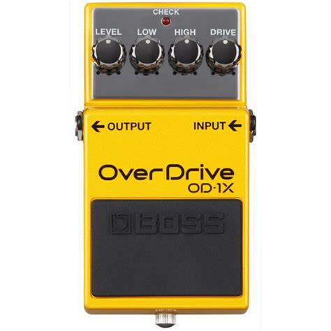 jual od 1x overdrive guitar effects pedal