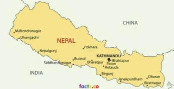 Nepal Maps by Interesting Facts About Nepal Map