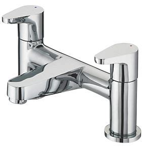 fix bathroom tap bristan quest bath filler tap bath taps screwfix com
