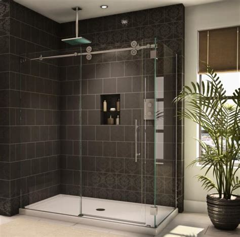 Showers With Sliding Doors Sliding Glass Shower Door Installation Repair Virginia Va