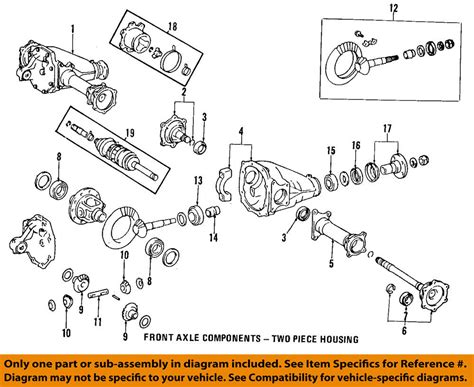 toyota oem front axle output shaft seal 9031135032 ebay