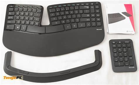 microsoft sculpt comfort desktop test microsoft sculpt ergonomic keyboard oraz comfort