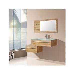 meuble salle de bain de luxe en bois massif ref sd682bn