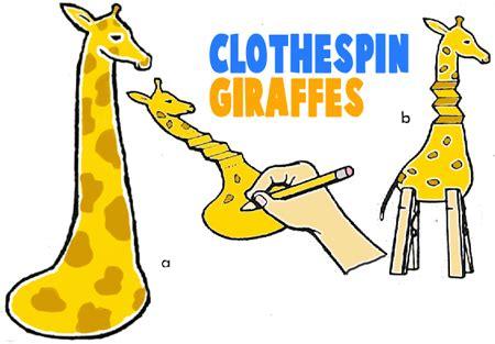 giraffe craft for preschoolers | www.pixshark.com images