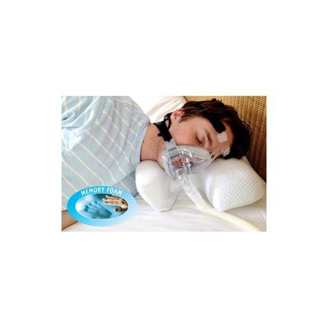 Cpap Bed Pillow by Cpap Memory Foam Pillow Sleepapnoea Co Uk