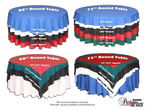 120 tablecloth fits what size table this linen size chart is helpful when deciding what size
