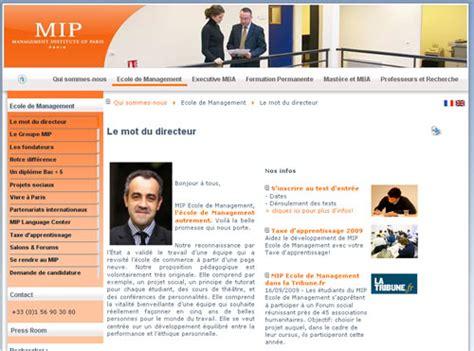 Mip Mba by Mip Un Mba Entrepreneuriat Parrain 233 Par Bruno