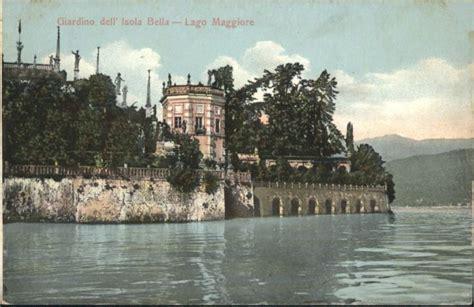 giardino isola alte postkarte lago maggiore giardino isola italy