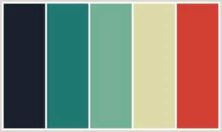 colors that go with aqua colorcombo378 with hex colors 1a202c 1f7872 72b095