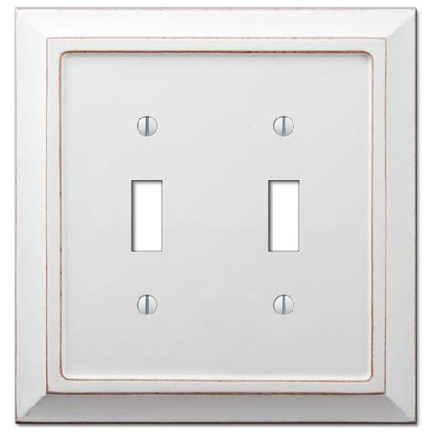 amerelle 180ttd baker unfinished alder wood 2 toggle 1 duplex wall plate distressed white wood 2 toggle wallplate