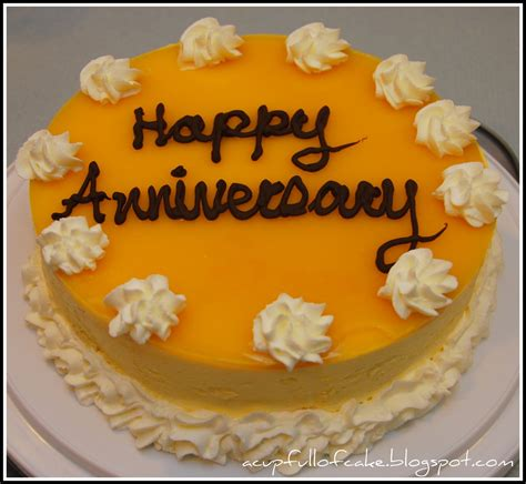 hochzeitstag torte a cup full of cake mango mousse anniversary cake