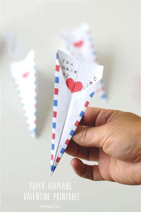 Printable Valentine Paper Airplane | paper airplane valentine