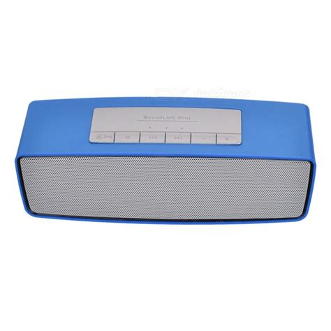 s815 portable wireless bluetooth speaker for home use blue free shipping dealextreme