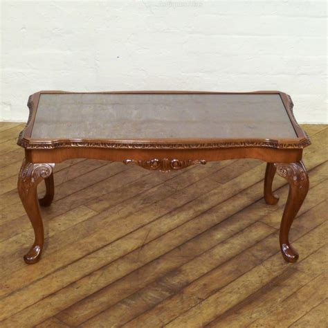 Antique Walnut Coffee Table Walnut Coffee Table Antiques Atlas