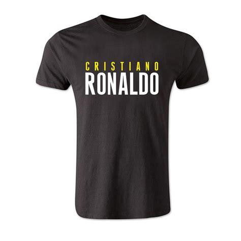 Tshirt Ronaldo Black cristiano ronaldo front name t shirt black tshirtblack
