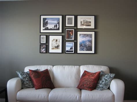picture frame on wall diy the picture wall rolling rotis