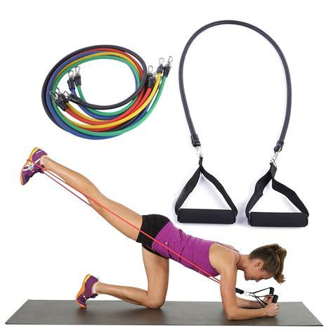Tali Pilates Fitness 11 Set aliexpress buy 11pcs set pilates tubing expanders exercise practical strength