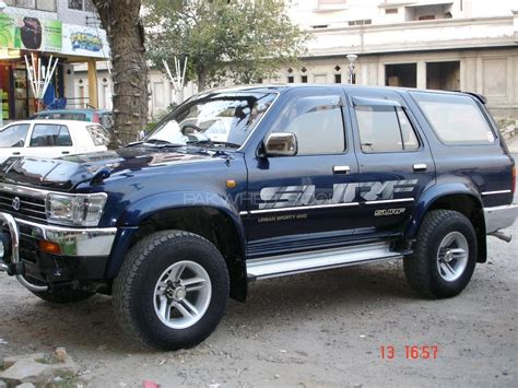 toyota surf car toyota surf 1994 for sale in islamabad pakwheels