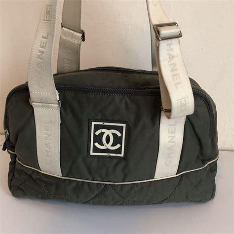 Tas Chanel 1 chanel sport line boston tas no reserve price catawiki