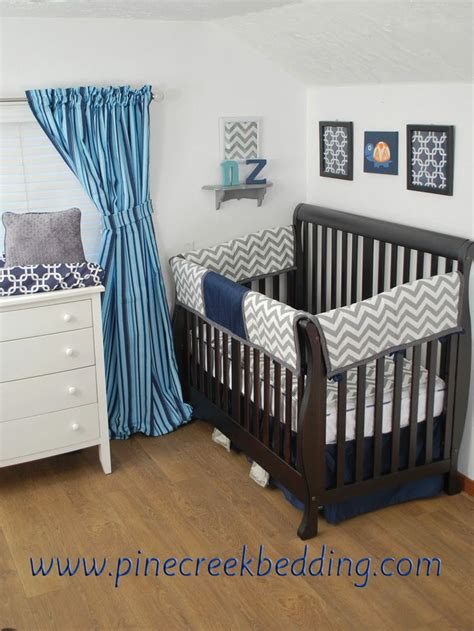 navy blue nursery bedding navy blue and grey chevron crib bedding navy in the