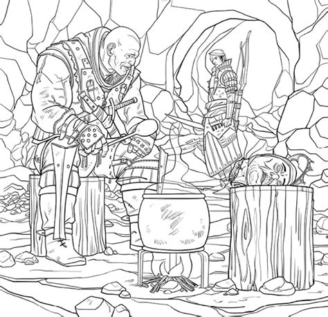 the witcher coloring book books the witcher coloring book tpb profile