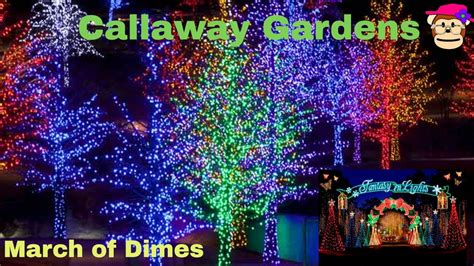 fantasy in lights callaway gardens christmas march of