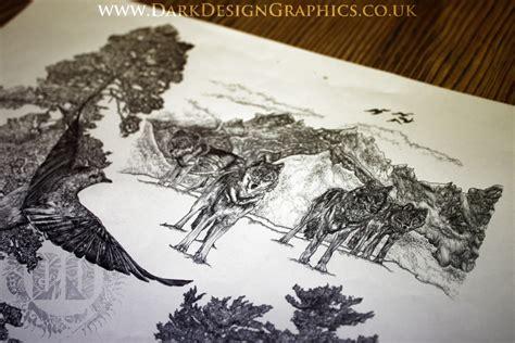 wolf pack tattoo designs an intricate sleeve wolf design design