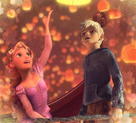 imagenes de jack y rapunzel rapunzel and jack frost by identity511 on deviantart