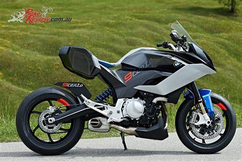 Bmw Motorrad Bike by Bmw Motorrad Unveil Concept 9cento Bike Review
