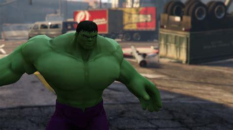 mod gta 5 ps3 hulk classic hulk add on gta5 mods com