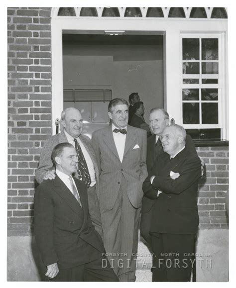 vogler house digital forsyth dedication of christoph vogler house in old salem 1955
