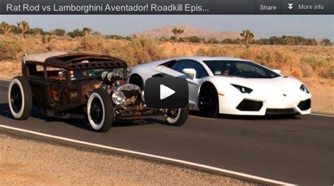 Lamborghini Rat Rod Rat Rod Vs Lamborghini Aventador Fast Car