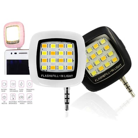 Lu Flash Selfie 16 Led aliexpress buy built in 16 led selfie flash light for phone fill in lights support