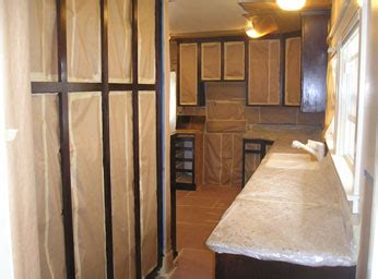 House Painter Long Beach House Painting Long Beach Painted Cabinets With Stained Doors