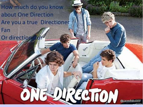 testi one direction one direction test are you a true directioner