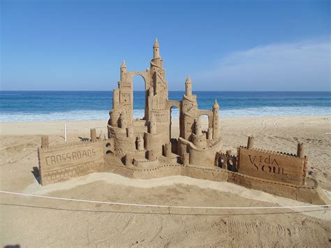 A Castle Of Sand sandcastle sculptures wedding anniversary sandcastles in