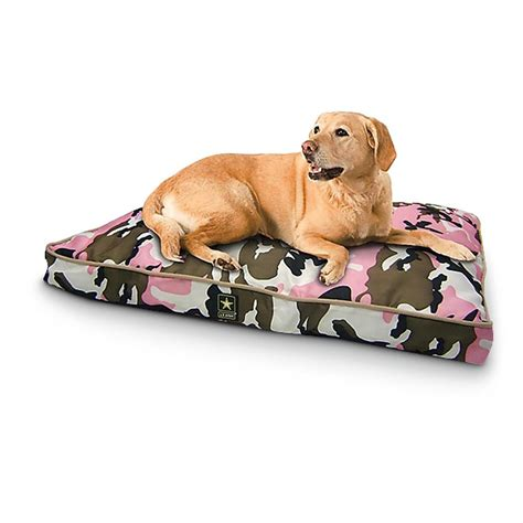 camo dog beds military style u s army dog bed camo 294125 kennels