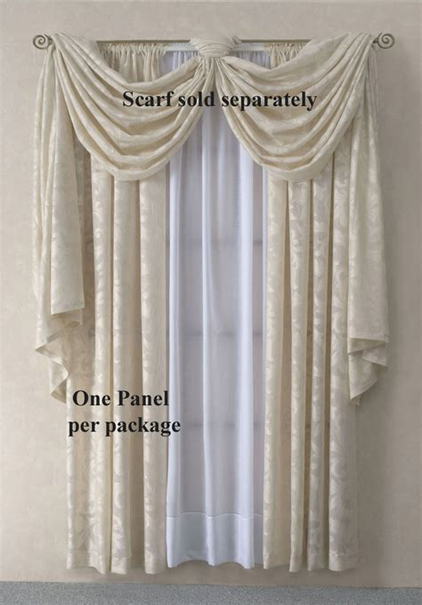 scarf valance curtains scarf valances solid colored sheer patterned
