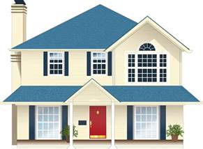 haus png free vector graphic house residence blue free image