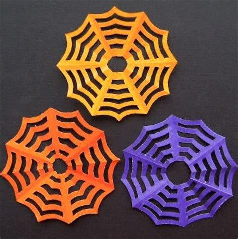 How To Make A Spiderweb Out Of Paper - paper spider webs